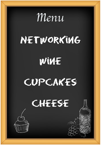 Networking - Cupcakes & Corks